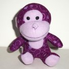 McDonald's 2012 Build-A-Bear Workshop Marble Sweetheart Monkey Happy Meal Toy Loose Used