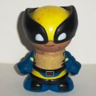 Marvel Play Town Wolverine Wooden Figure X-Men Learning Curve Loose Used