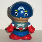 Marvel Play Town Captain America Wooden Figure Learning Curve Loose Used