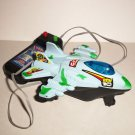 Ben 10 Line Control Airplane Battery Powered Spaceship Loose Used
