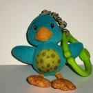Bright Starts Take and Shake Bird Baby Toy Loose Used
