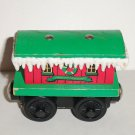 Thomas & Friends Wooden Railway Winter Caboose Train Loose Used