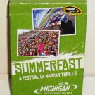 Michigan International Speedway NASCAR Summerfast Playing Cards Set MIS Irish Hills Brooklyn MI Used