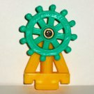 Disney Winnie The Pooh Steering Wheel from Ahoy There Pooh Pirate Ship Playset Loose Used