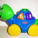 Fisher-Price #L6361 Laugh & Learn Roll-Along Turtle Mattel 2007 Loose Used