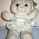 House Of Lloyd 1988 White Angel Teddy Bear Loose Used