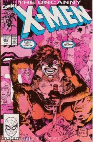 Uncanny X-Men #260 Marvel Comics April 1990 VF