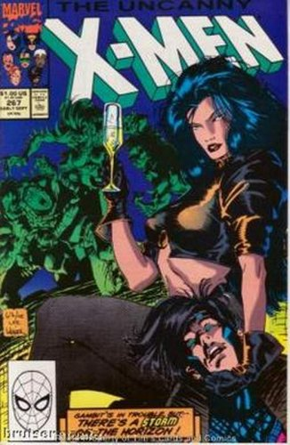Uncanny X-Men #267 Marvel Comics Sept 1990 FN/VF