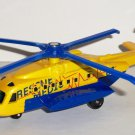Matchbox Sky Busters 2009 SB-81 Sikorsky S-92 Helicopter Rescue Medic 01 Skybusters Loose Used
