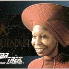 Star Trek TNG Season 2 Guinan Card S10 Whoopi Goldberg