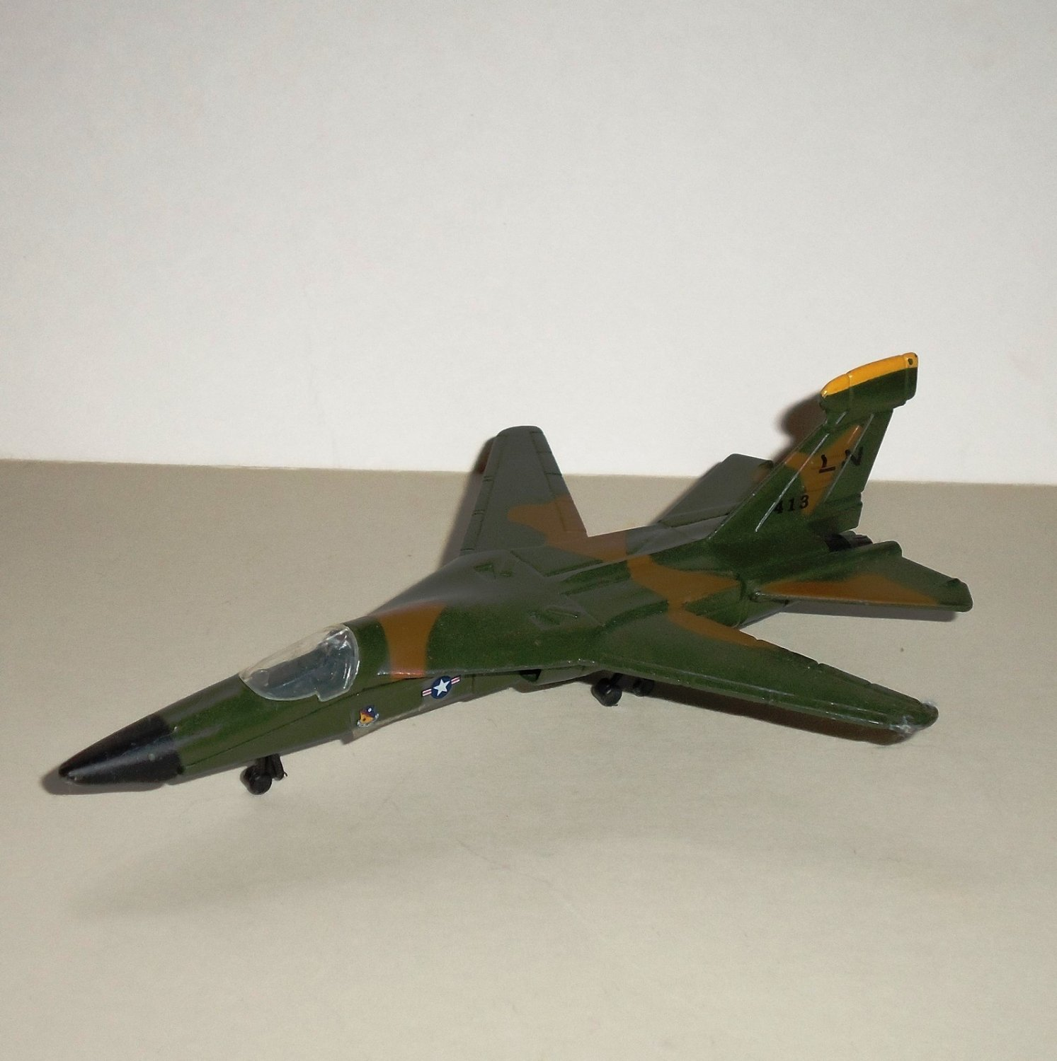 Road Champs F-111 Diecast Jet Airplane Loose Used