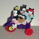 McDonald's 1994 Animaniacs Bicycle Built For Trio Happy Meal Toy Loose Used