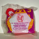 McDonald's 1995 Busy World of Richard Scarry Mr. Frumble and Fire Station Happy Meal Toy NIP