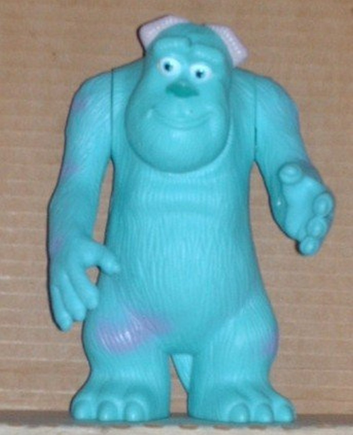 McDonald's 2005 Pixar Pals Monsters Inc Sulley Figure Happy Meal Toy Disney Loose Used