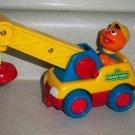 Sesame Street Ernie Toy Crane Tyco 1999 Loose Used