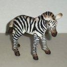 Schleich Zebra Foal PVC Figure 14393 Loose Used