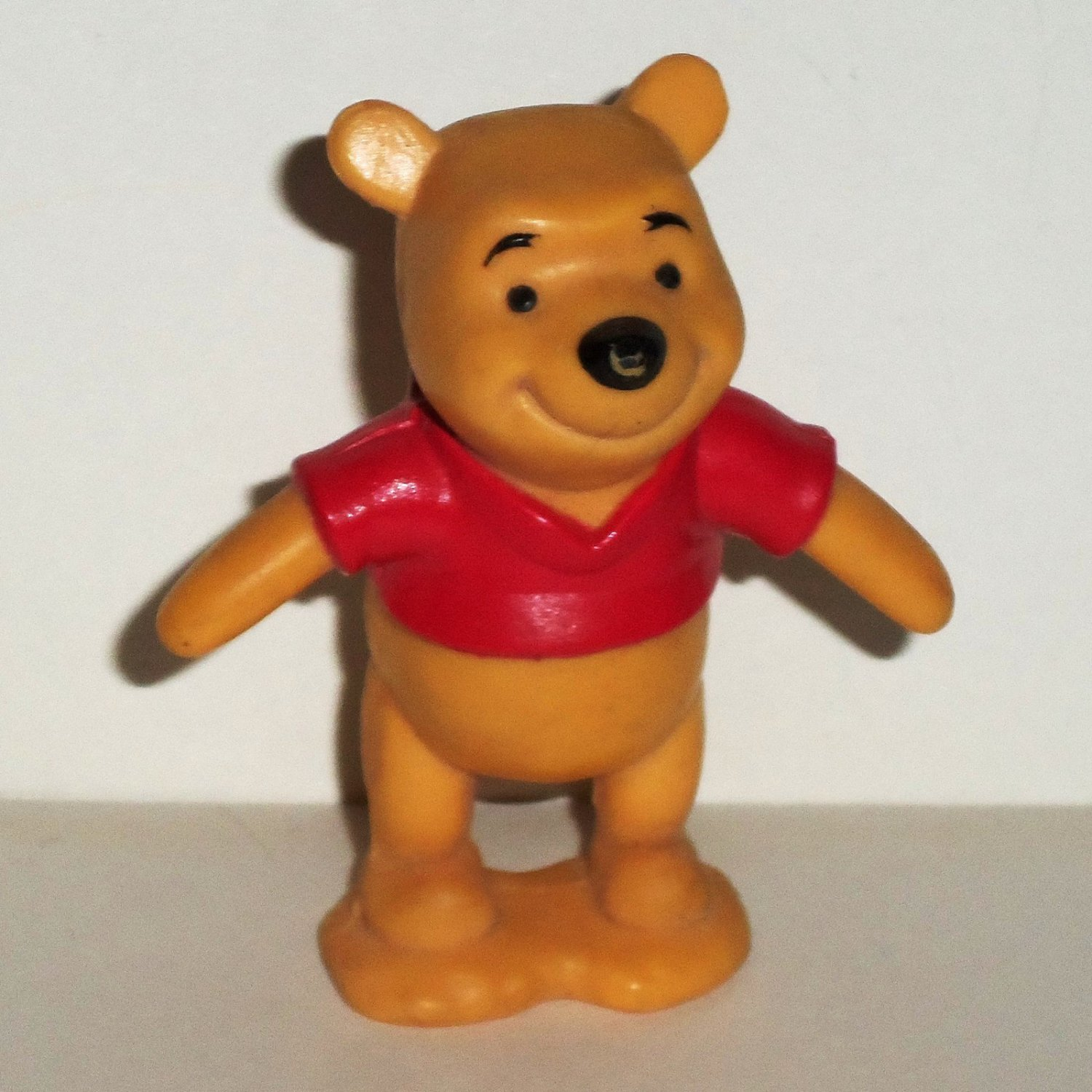 Disney Winnie The Pooh PVC Figure from Toddler Collectibles Set Mattel 66610 Loose Used