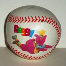 Reggy the Purple Party Dude White Softee Ball Baseball Loose Used