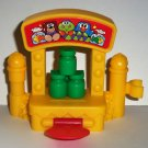 Fisher-Price Little People Knock the Bottle Down Game from Musical Ferris Wheel Set B7553 Loose Used