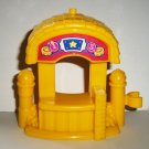 Fisher-Price Little People Ticket Booth from Surprise Sounds Fun Park B6313 Loose Used
