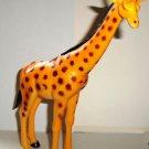 """Giraffe 9"""" Plastic Animal Figure Loose Used"""