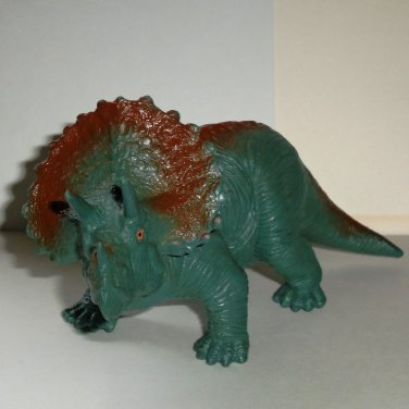 Toy Major 2000 Triceratops Dinosaur Figure Loose Used