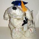 First & Main Grad Huggums Plush Stuffed Toy Dog Graduation w/ Tags Loose Used