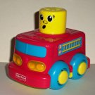 Fisher-Price R8893 Stack N Surprise Stacking Vehicles Fire Truck Loose Used