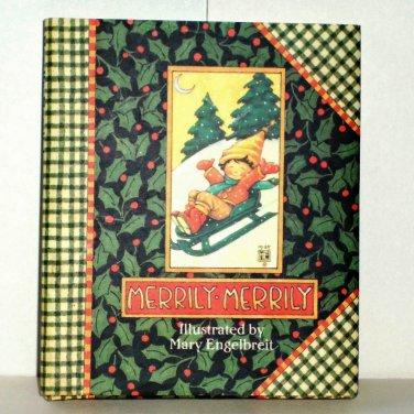 Merrily Merrily by Mary Engelbreit 1995 Hardcover Mini Book Like New