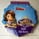 Disney Junior Sofia the First Jumbo Sticker Book 300 Stickers Stickerfitti Paper Magic Group New