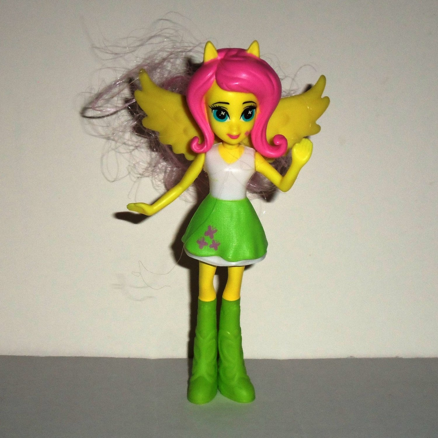 McDonald's 2015 My Little Pony Fluttershy Doll Happy Meal Toy Hasbro Loose Used