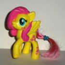 McDonald's 2015 My Little Pony Fluttershy Figure Happy Meal Toy Hasbro Loose Used