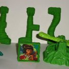 McDonald's 2013 The Croods Ramu Set Happy Meal Toy Loose Used