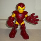 Iron Man Rocket Boost Action Figure Marvel Super Hero Squad Hasbro 2010 Loose Used