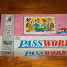 Vintage Password Board Game Volume 3 Milton Bradley 1963Used  Incomplete