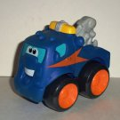 Playskool Tonka Wheel Pals Blue Tow Truck with Black Wheels Loose Used