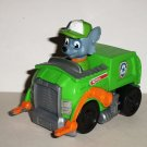 Paw Patrol Racer Rocky in Recycling Garbage Truck Loose Used