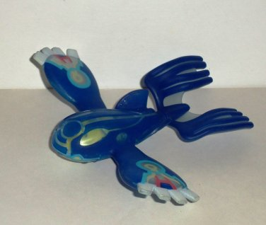 McDonald's 2015 Pokemon Primal Kyogre Figure Only Happy Meal Toy Loose Used