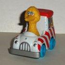 Sesame Street Big Bird Diecast Metal Popcorn Truck Muppets Playskool Hasbro 1983 Loose Used