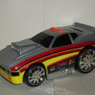 Road Rippers Silver Striped Car w/ Lights & Sound Toy State Loose Used