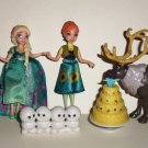 Disney Frozen Fever Birthday Party Partial Set Mattel 2015 Loose Used