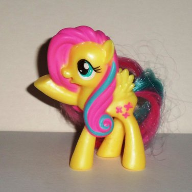 McDonald's 2014 My Little Pony Fluttershy Happy Meal Toy Hasbro Loose Used