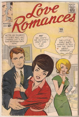 Love Romances (1949 series) #105 Marvel Comics May 1963 Good