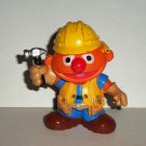 Sesame Street Friends Ernie Builder PVC Figure Muppets Hasbro Playskool 2012 Loose Used