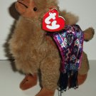 Ty Attic Treasures Lawrence the Camel Beanie Babies w/ Tag Loose Used