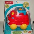Fisher-Price CDF26 Roller Blocks Fire Truck Mattel 2014 New in Original Packaging