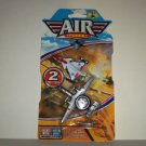 Greenbrier Air Force 2 Piece Jet Airplane Set Diecast Metal & Plastic New in Original Packaging