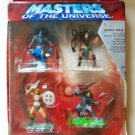 Masters of the Universe Heroes vs. Villains Gift Pack Set of 4 Figures Mattel 56537 Original Package
