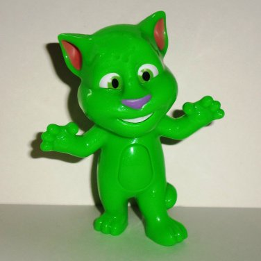McDonald's 2016 Talking Tom Action Green Happy Meal Toy Loose Used