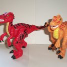 Fisher-Price Imaginext Shreds & Slash The Raptors Dinosaurs Loose Used